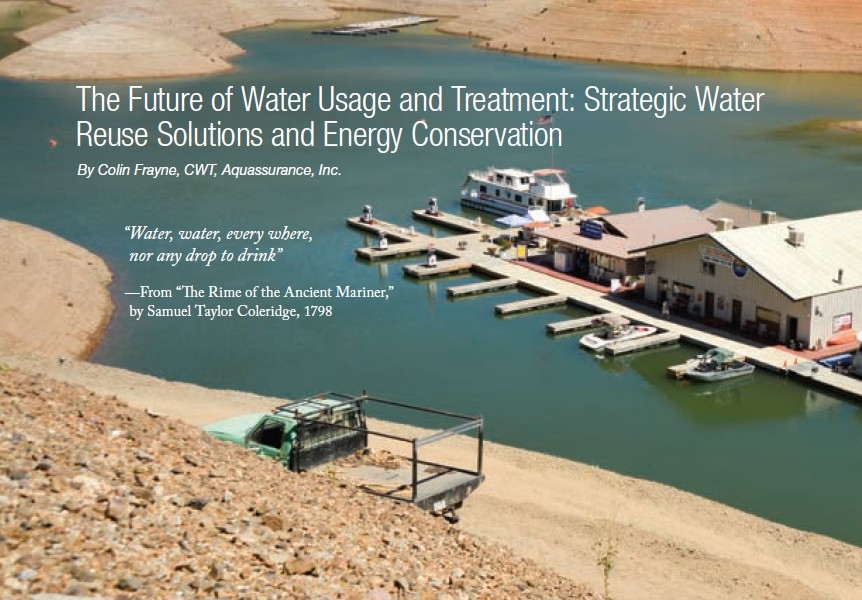 The Future of Water Usage and Treatment